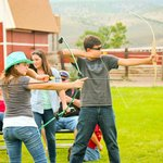 Archery at the Rockin R Ranch