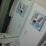 Chuveiro quente, banheiro descente