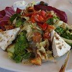 An exquisite salad