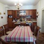 dinning room/ kitchen