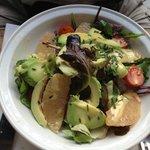 salade de pamplemousse et avocat au menu !! Sympa