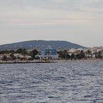 hotel vue depuis la mer