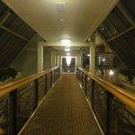 Vue du 1 étage sur la mezzanine