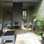 The Village House guests terrace
