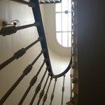 Vu d'escalier