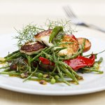 Samphire summer salad