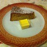 torta di mele e cremina alla vaniglia