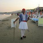 Traditional Greek outfit.