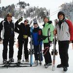 Очень довольны отдыхом и катанием с гор в Ла Плань