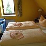 Zimmer 13 Schlafbereich Eltern