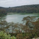 Green Crater lake