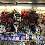 maschere in quantità