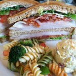 Cafe turkey club