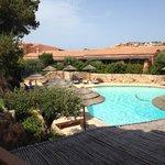 Vista da minha suite para a piscina