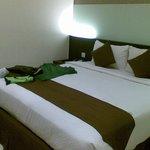 La camera: piccola ma confortevole