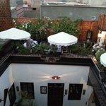Terrasse pour manger ou prendre une boisson
