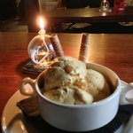House-made brandy and apricot ice cream