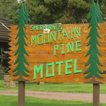 Mountain Pines Sign
