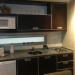 Room's kitchenette