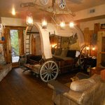 How about sleeping in a wagon bed in Sedona?!