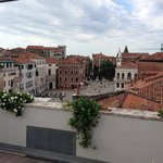 Campo Santo Stefano from roof terrace