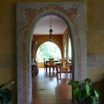 The archway to the dining room!