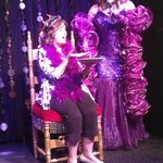 """Patricia on stage with """"Joan Rivers"""""""