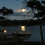 Moonlight on the lake