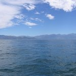 The beautiful Kaikoura Range.
