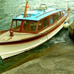 The water taxi used for tours and rides to Positano.