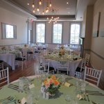 10 Downing set up for Rehearsal Dinner
