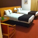 twin room  clean and spacious  I ordered a double bed