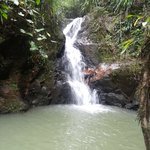 the waterfall that is part of the land