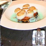 2008 Simply divine scallops and green foam