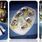 Coctel de Camaron - Ostiones Frescos - Ceviche de camaron y pescado