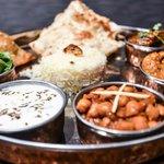 thali sampler platter