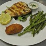 Grilled Swordfish Dijon