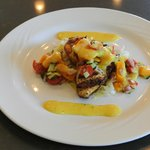 Swordfish with Fresh Mango Slaw