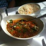Garlic chilli chicken