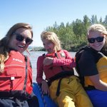 "Raft on ""River of Sticks"""