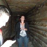 Sarah talking about the spirit in the gun powder hallway
