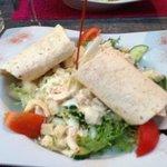 salade césar très copieuse