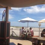 great lunch by the ocean
