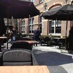 Outside dining/drinks terrace