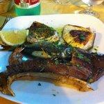 grigliata mista di pesce!OTTIMA!
