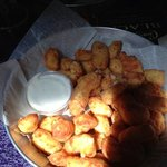 the cheese curds are mouth watering!!!!