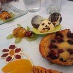 clafoutis au cerise et chocolat