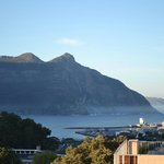 Winter morning view over Hout Bay bay