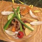 Sea salted vegs for dinner - locally farm!