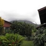 El Volcan frente de la Cabaña